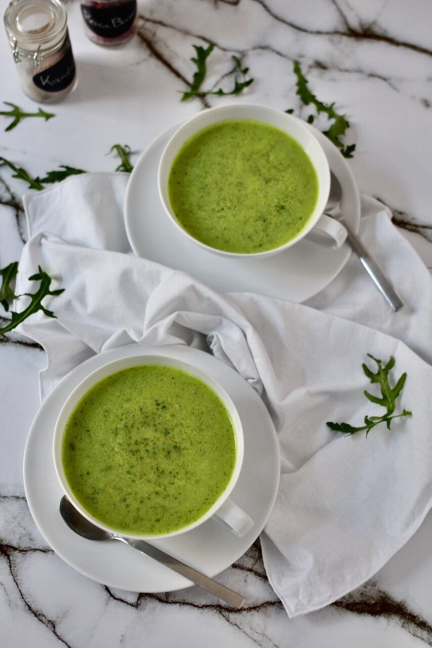 Brokkoli-Rucola Detox-Suppe