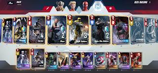 Marvel duel hydra deck
