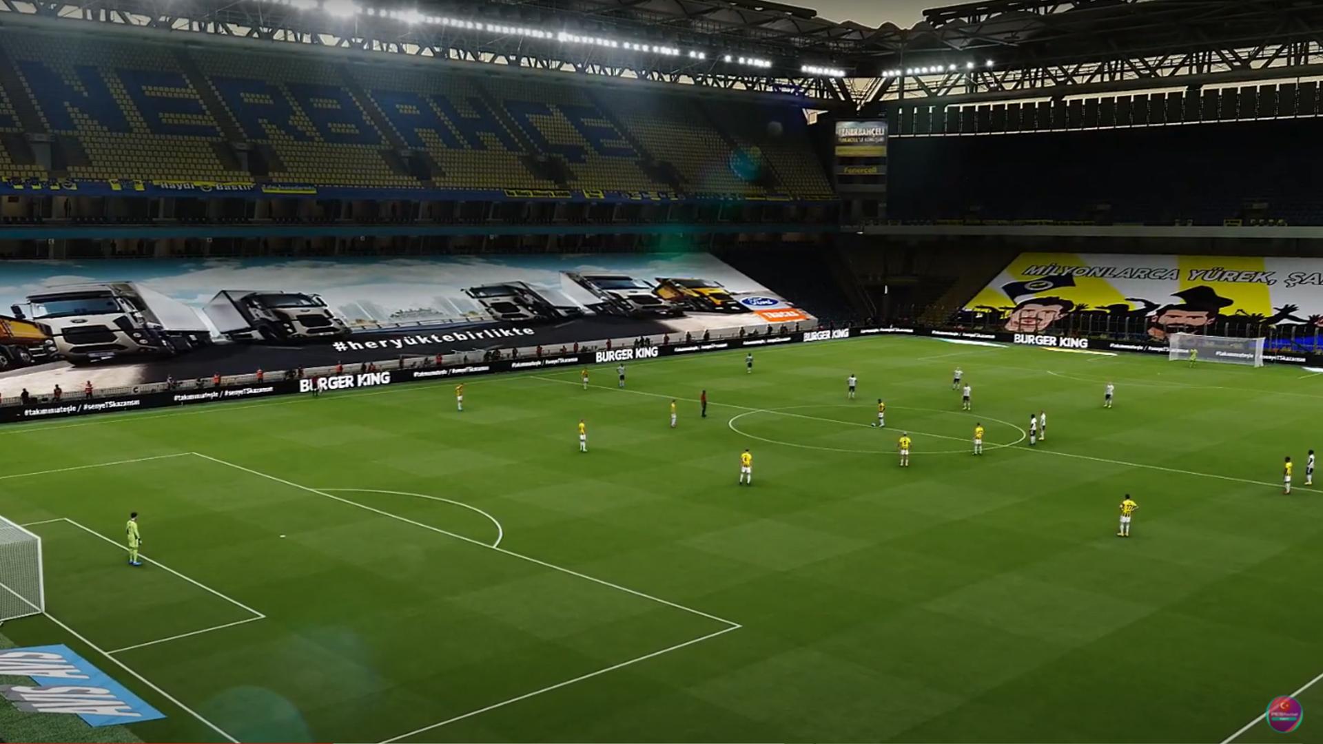 PES 2021 Ülker Şükrü Saraçoğlu Stadium Lockdown Edition