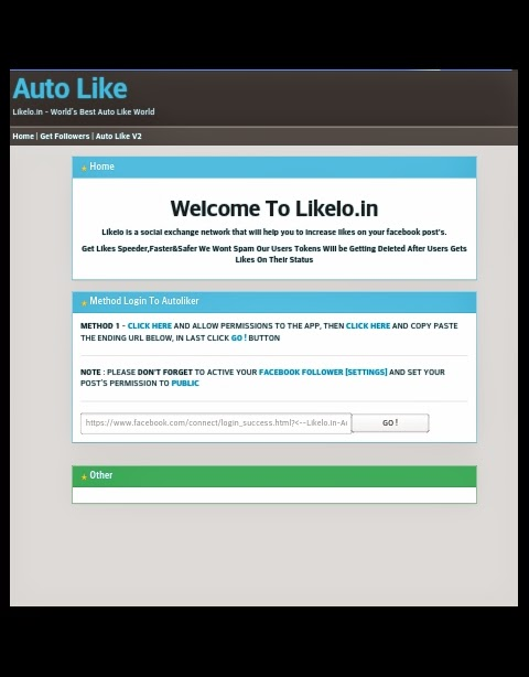 Get 1000+ Likes in Facebook - 100% Working Auto Like Trick