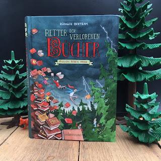 """""""Retter der verlorenen Bücher: Mission Robin Hood"""" von Rüdiger Bertram, illustriert von Horst Hellmeier, erschienen im Ueberreuter Verlag"""