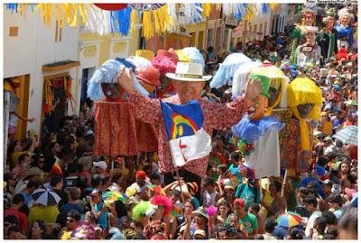 Abertura do carnaval de Olinda em um encontro histórico