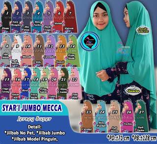 Jilbab non pet jumbo model terbaru 2017 lebar dan murah