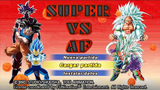 DESCARGA YA DBZ TTT MOD SUPER VS AF CON MENÚ PERMANENTE NUEVA ISO [FOR ANDROID Y PC PPSSPP]+DOWNLOAD