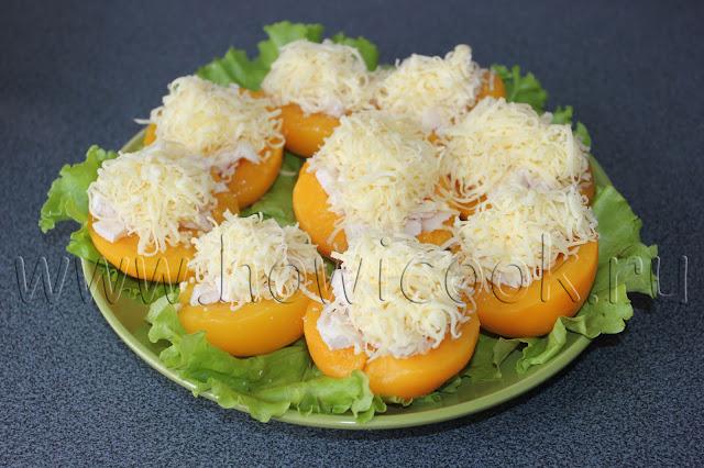 рецепт фаршированных персиков с пошаговыми фото