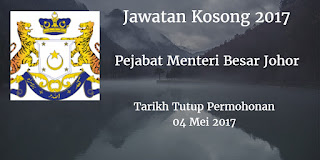 Jawatan Kosong PMBJ 04 Mei 2017