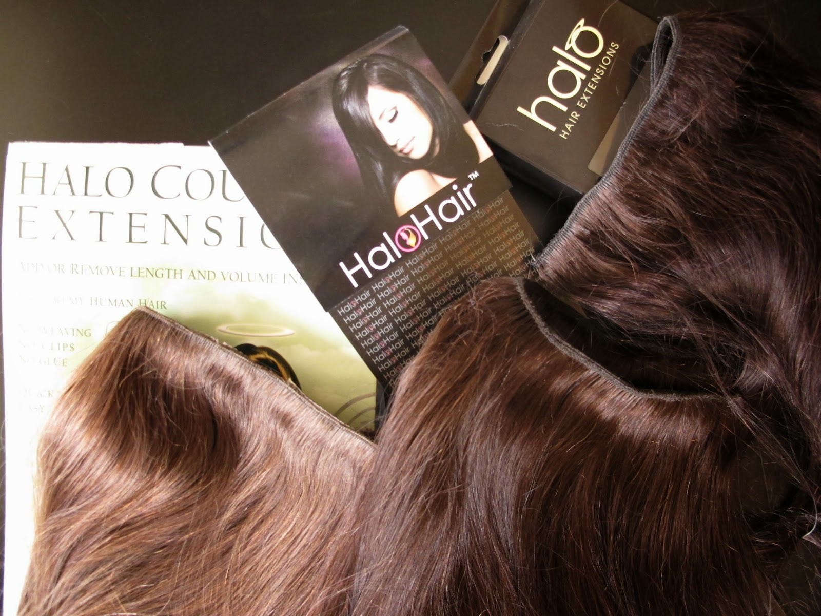 A Models Secrets Halo Hair
