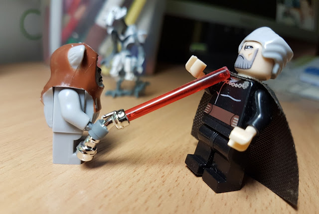 Count Dooku and ewok funny pictures Star Wars lego