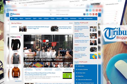 Template Mirip Tribunnews Versi Blogspot