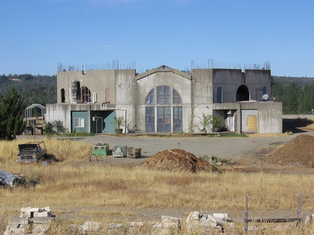Fellowship of Friends cult derelict Renaissance Winery in Oregon House, CA