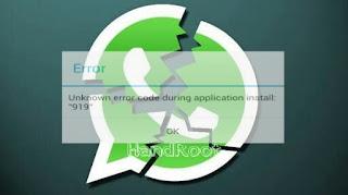 WhatsApp Anda Error 919, 923 atau 924? Begini Caranya