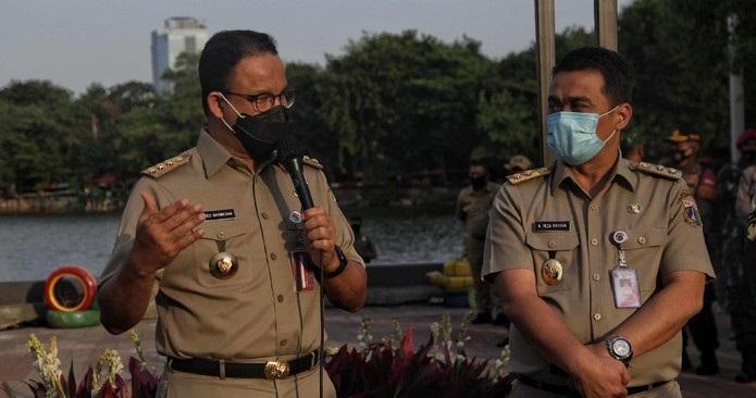 Anies Ganti Kadis Sumber Daya Air Usai Banjir Jakarta, Begini Penjelasan Wagub Riza Patria