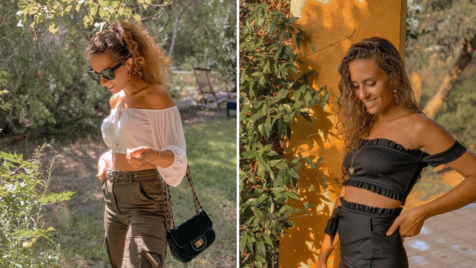 ispirazione outfit femme luxe, Valentina Rago, fashion need, pantaloni cargo tendenza