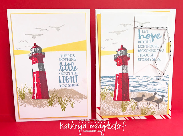 Stampin' Up! High Tide, Male Card, Masculine Card created by Kathryn Mangelsdorf