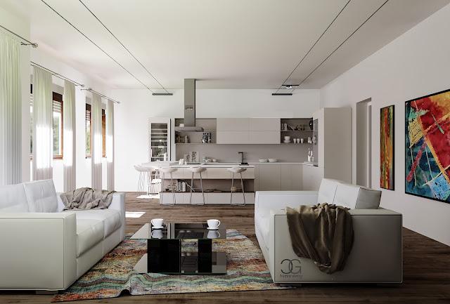 Rendering di Giulia Calvani per Architetto Alessandro Barciulli