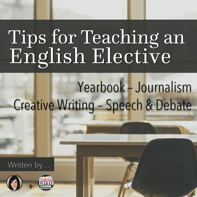 Sometimes teachers get assigned - or voluntold - to teach a class that's not their particular area of expertise. What do you do when you've been assigned to teach something like journalism, newspaper, or speech and debate? This blog post, co-written by two English teachers, goes into detail about teaching an effective English class. Click through to get all of their tips!