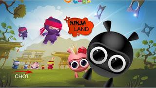 Game giải cứu ninja cứu người yêu