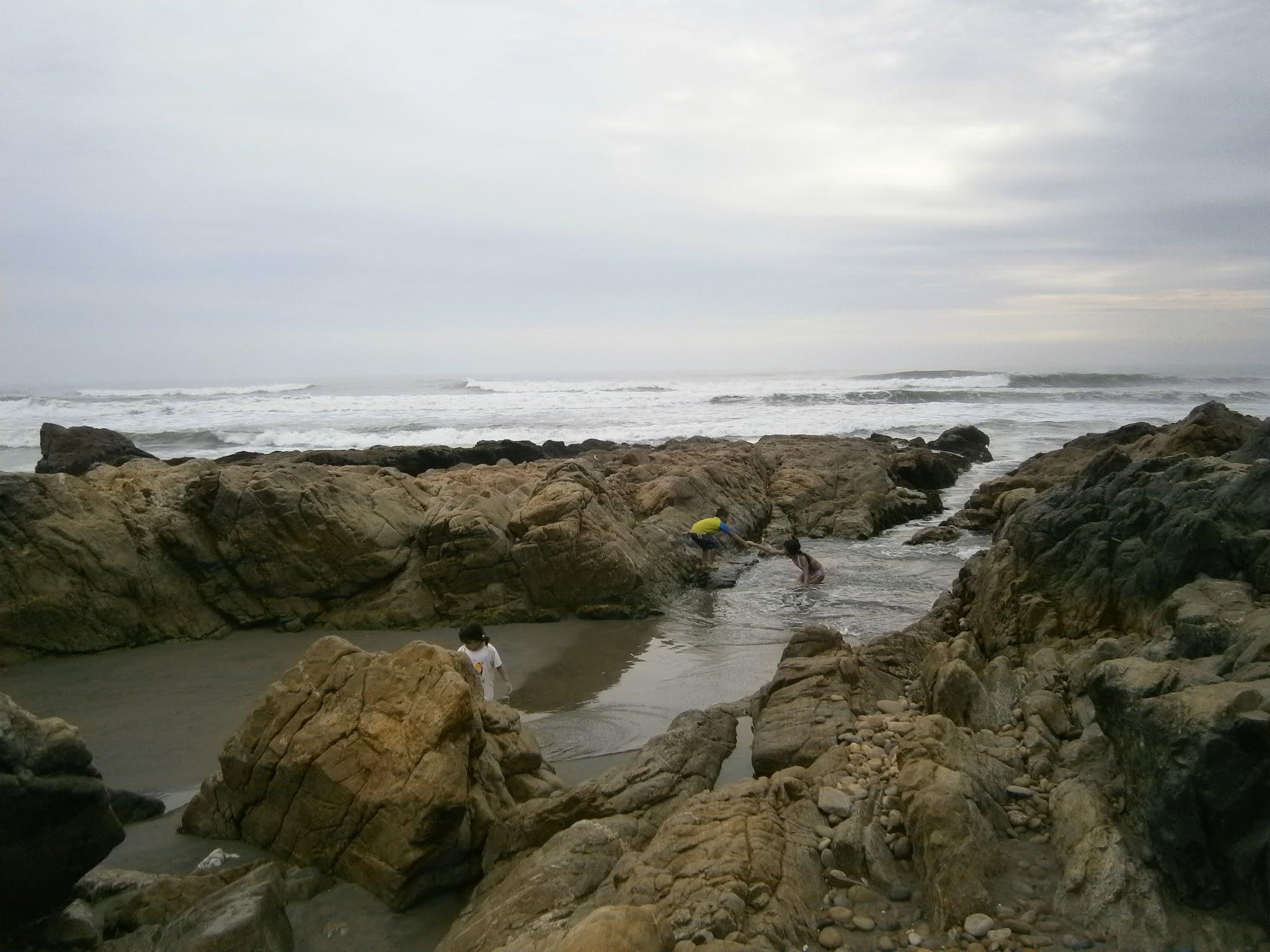 Playa ubicada en el norte del Perú llamado Cascajal