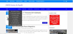 Novo lay-out do site do CEDE