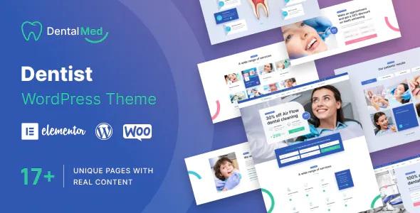 Best Dentist Clinic WordPress Theme
