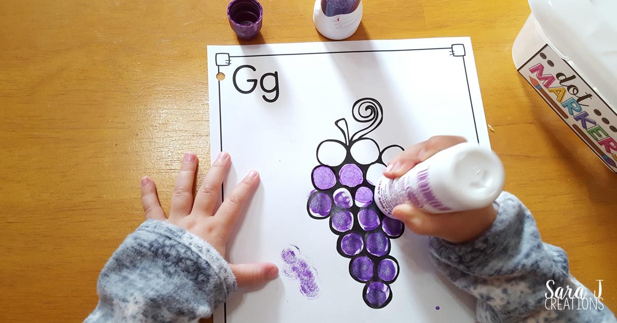 letter g activities that would be perfect for preschool or kindergarten sensory art