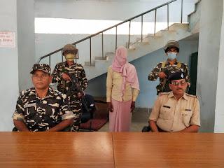 एसएसबी और पुलिस के जॉइंट ऑपरेशन में पकड़ा गया नक्सली भुन्ना मियां