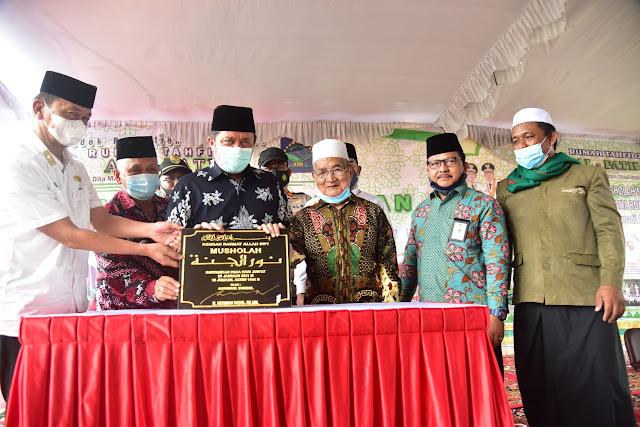 HD Komitmen Dorong  Rumah Tahfidz Tumbuh Merata  di Sumsel