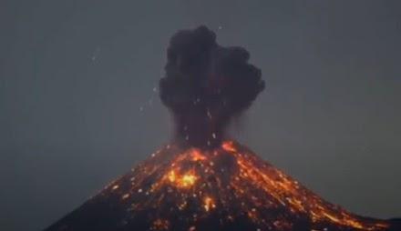 Εκρήξεις ηφαιστείων μπροστά στην κάμερα
