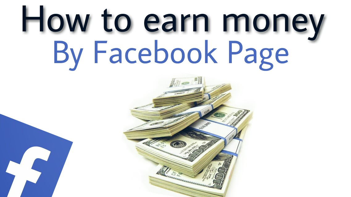 earn money by facebook page