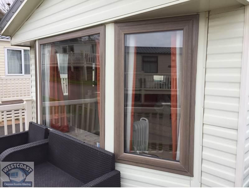 static caravan double glazing windows in Devon