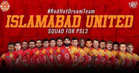 Islamabad United Squad 2018