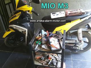 Cara pasang alarm motor Mio M3