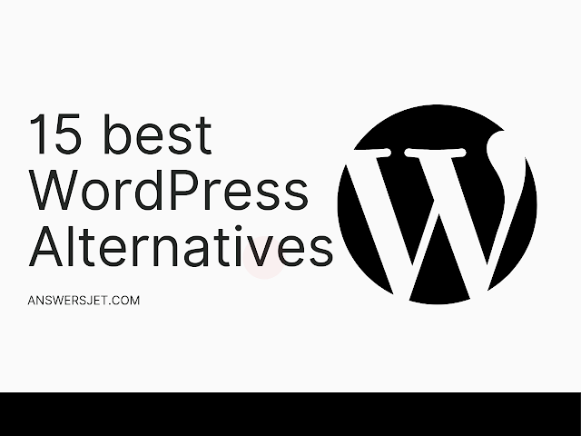 15 best WordPress Alternatives