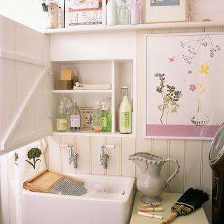 desain tempat cuci baju sederhana