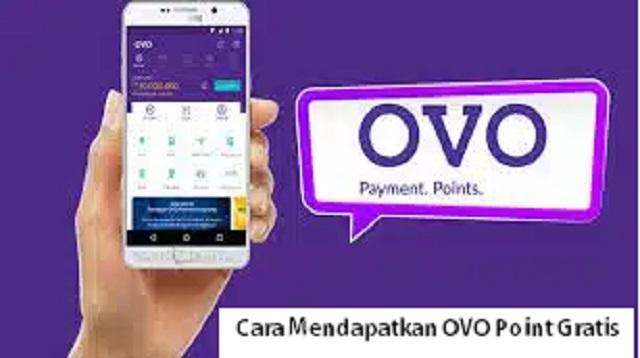Cara Mendapatkan OVO Point Gratis