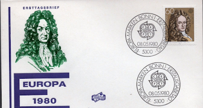Gottfried Wilhelm Leibniz, German mathematician and philosopher 1980 First Day Cover