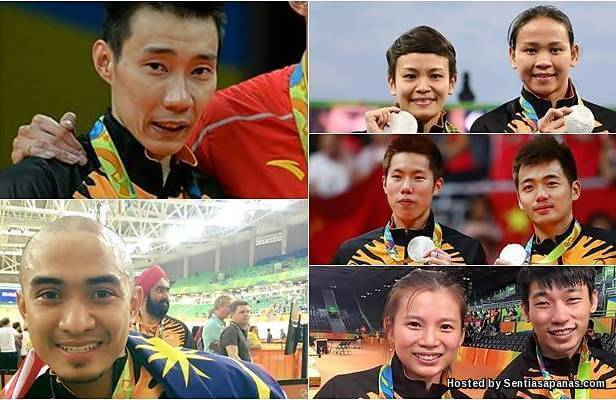 Badminton Malaysia Olimpik