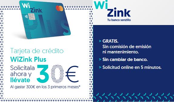 tarjeta-wizink-plus-30-euros