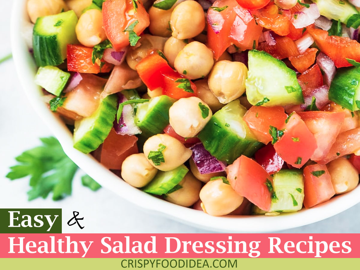 healthy salad recipes ideas