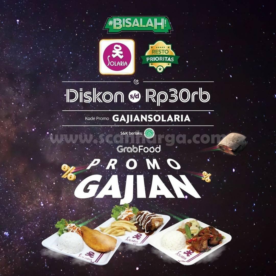 Promo Solaria Payday Spesial Gajian Diskon hingga Rp 30.000