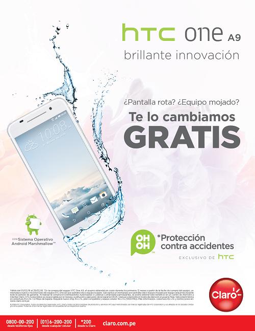 HTC ONE A9 PROGRAMA DE PROTECCIÓN UH-OH