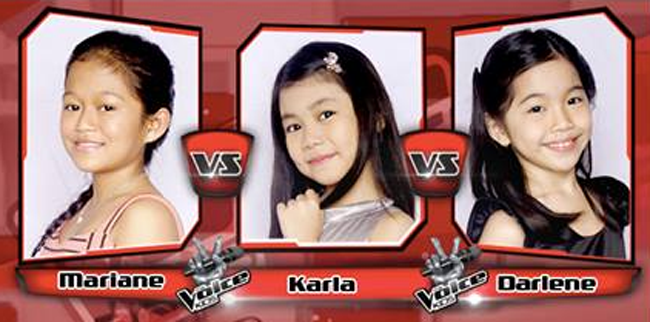 Darlene Won Over Marian and Karla on The Sing-offs for The Voice Kids Philippines