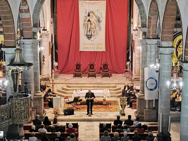 Presentados el cartel y los actos pastorales de la Bajada de La Virgen de Las Nieves