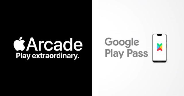 مقارنة سريعة بين Apple Arcade و Google Play Pass