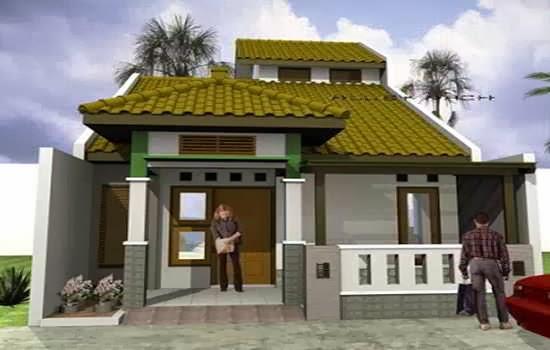 bentuk atap rumah minimalis sederhana