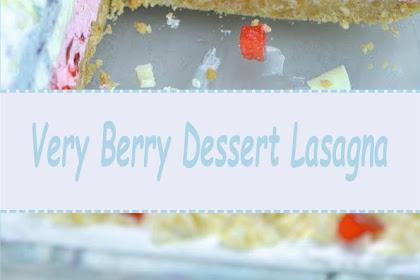 Very Berry Dessert Lasagna