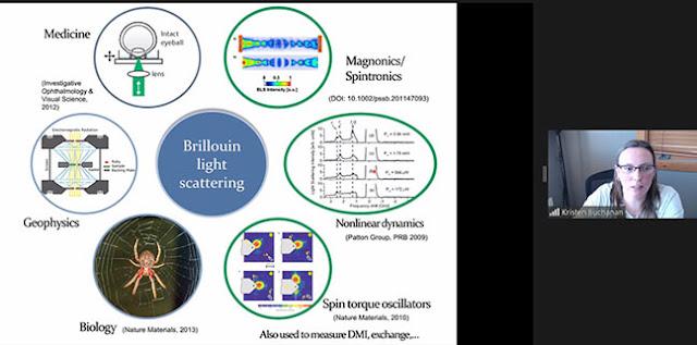 Applications of Brillouin Scattering (Source: Kristen Buchanan, CSU, at CSULB Physics Colloquium)