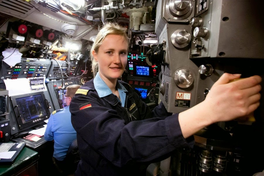 asian defence news german navy appoints first female submarine officer