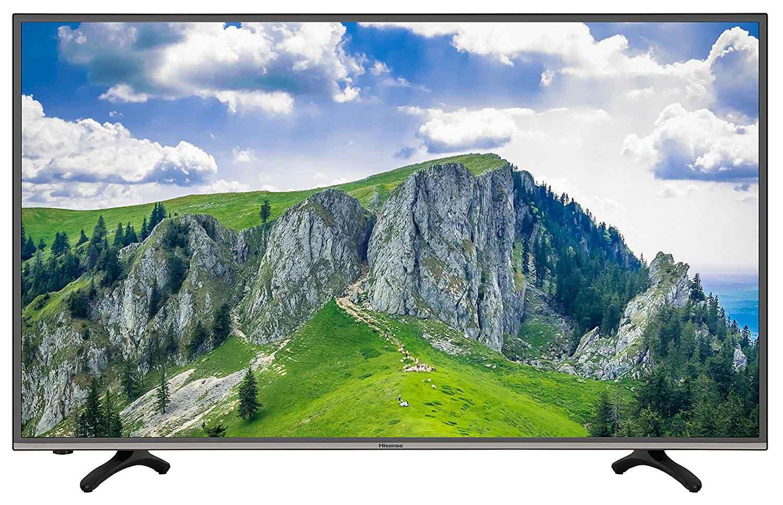 Hisense H49MEC3050 123 cm (49 Zoll) Fernseher (Ultra HD, Triple Tuner, DVB-T2 HD, Smart TV)