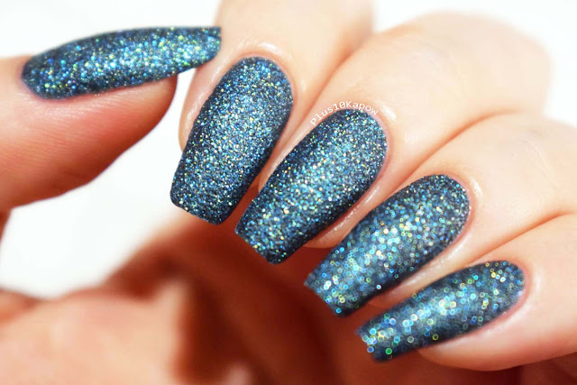 Barry M Crystal Rock Collection Swatches Fluorite